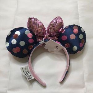 Disney Accessories - Disney Parks Minnie Mouse Ear HeadBand